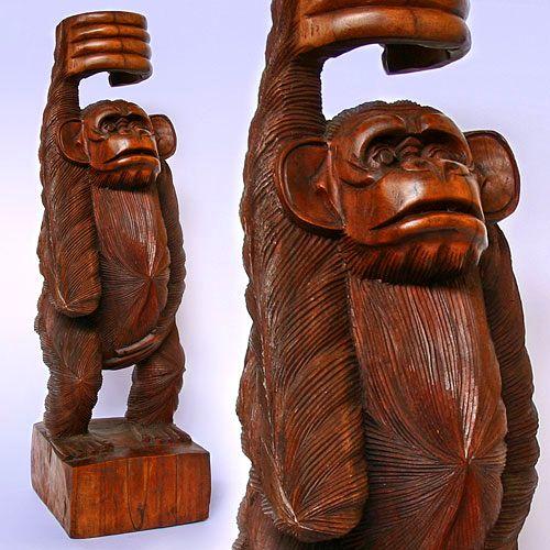 того, фигурки обезьяны из дерева знакомство термобельем Сначала